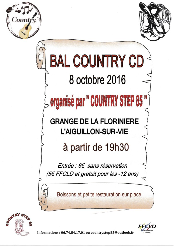 Country Step 85 @ Aiguillon sur Vie