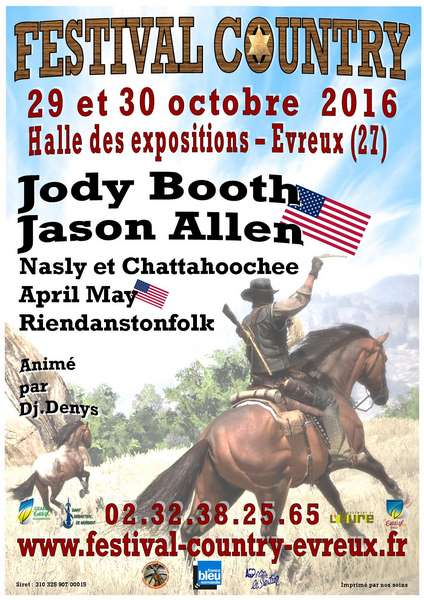 Festival Country @ Evreux