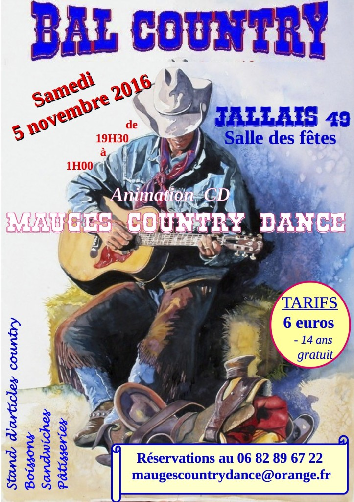 Mauges Country Dance @ JALLAIS