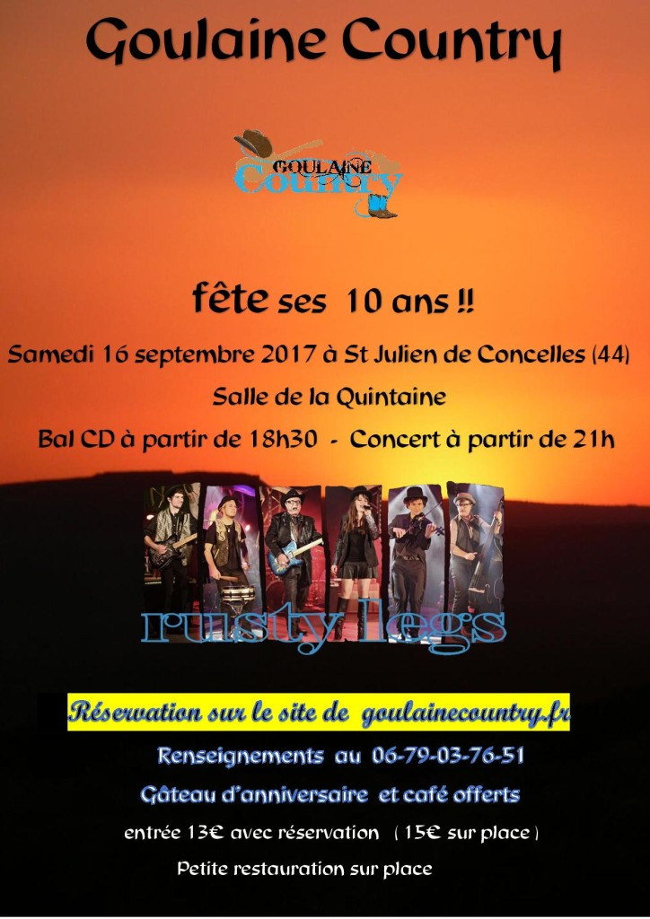 Goulaine Country 10 ans @ Basse Goulaine