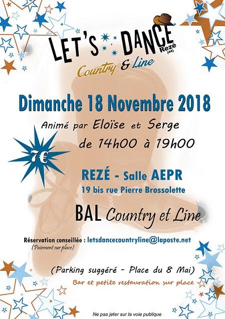 Let's Dance Country & Line @ Rezé