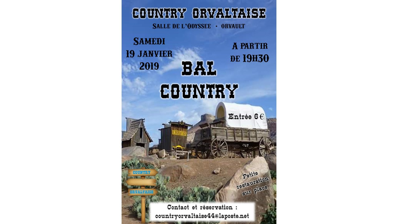 Country Orvaltaise @ Orvault
