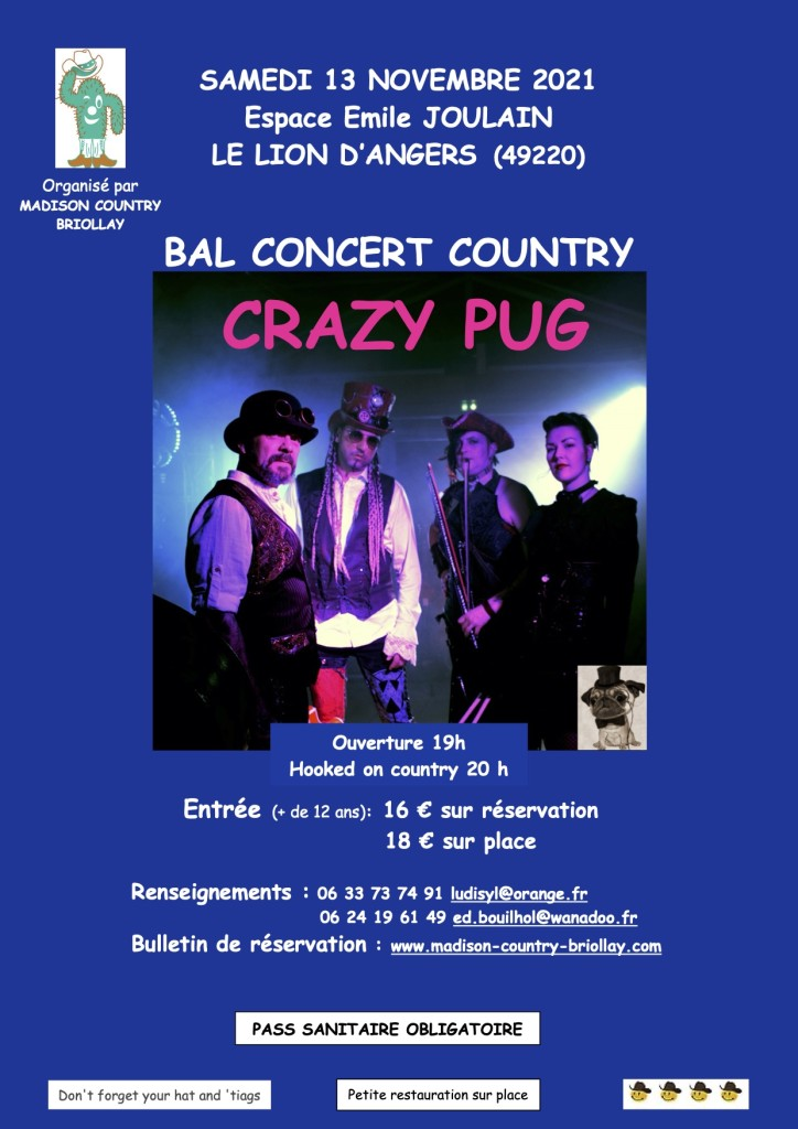 Madison Country Briollay @ Lion d'Angers (49)